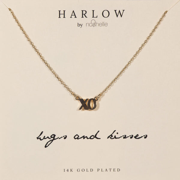 Harlow XO Necklace