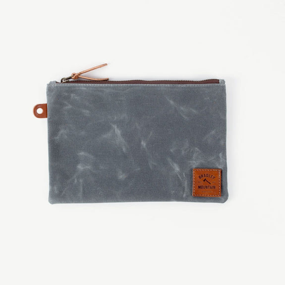 Folio Zip Pouch - Charcoal