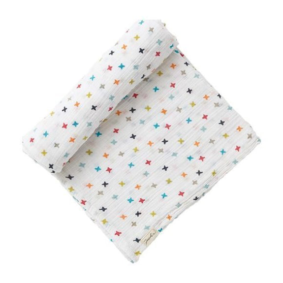Muslin Swaddle - Rainbow Jacks