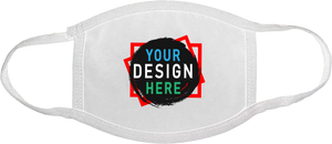 Customize Your Own 3-ply Face Mask | Personalize Face Masks | Custom4You