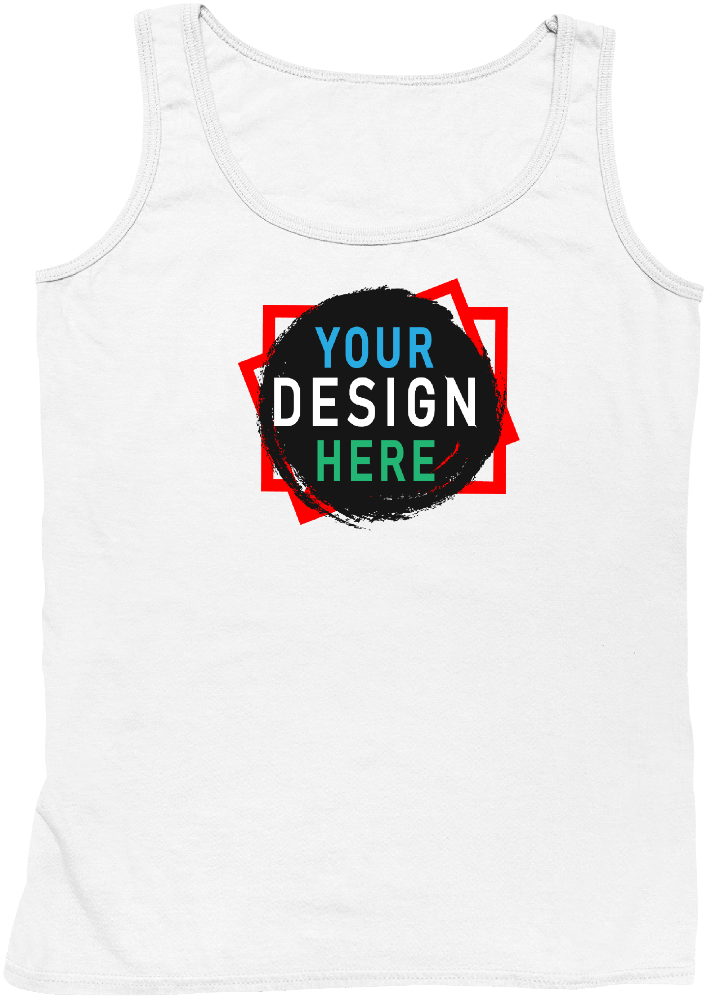 Design Your Own Unisex Tank Top | Personalize Your Own Clothing | Custom4You