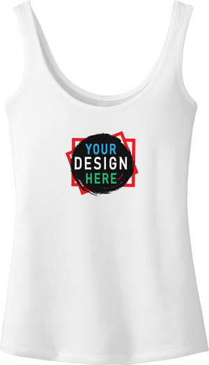 Custom Women's Fashion Tank Top |  Printed Women Clothing | Custom4You