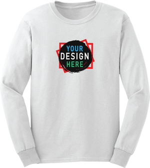 Personalize Unisex Long-Sleeve Tee | Custom T Shirt Printing | Custom4You