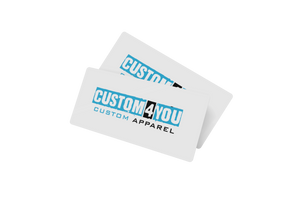 Custom 4 You Apparel Gift Card