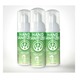 Silver Soft® Antibacterial Hand Sanitizer Spray