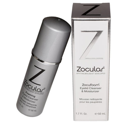 ZocuFoam Eyelid Cleanser and Moisturizer Retail