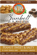 Peanut Sweet & Salty Chewy Granola Bars