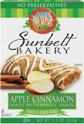 Apple Cinnamon Fruit & Grain Bars