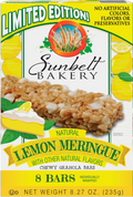 Lemon Meringue Chewy Granola Bars