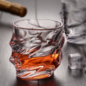 CREATIVE ENGRAVED WHISKY GLASS