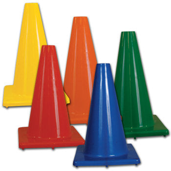 "Heavy Weight 6"" Collapsible Soccer Cones"