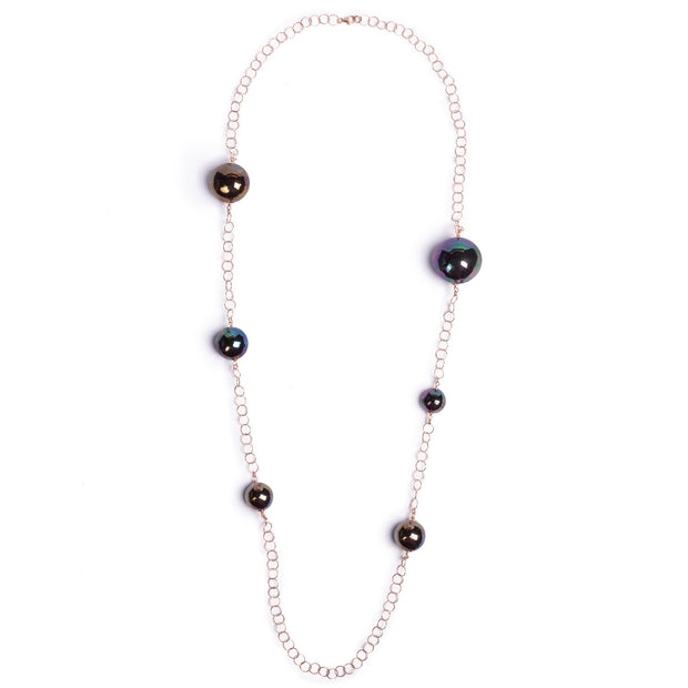 BALLS LONG NECKLACE