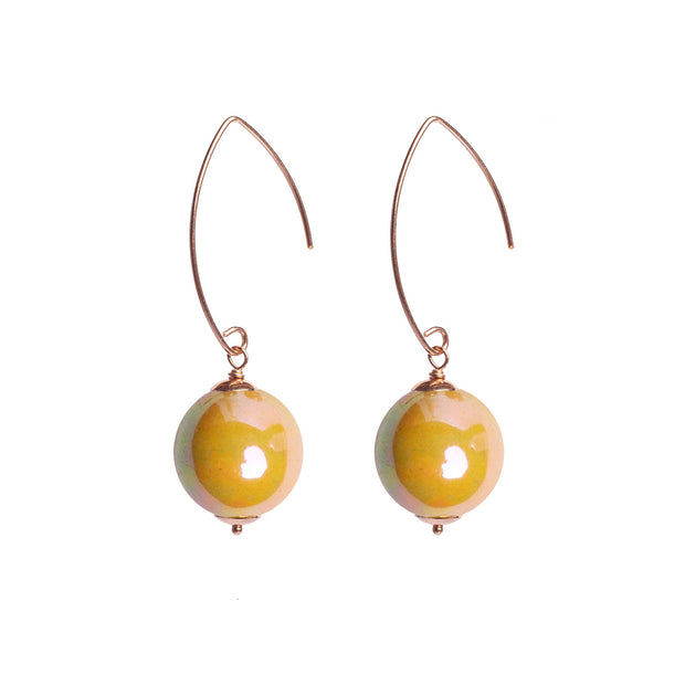 BALLS ARCHED EARRINGS