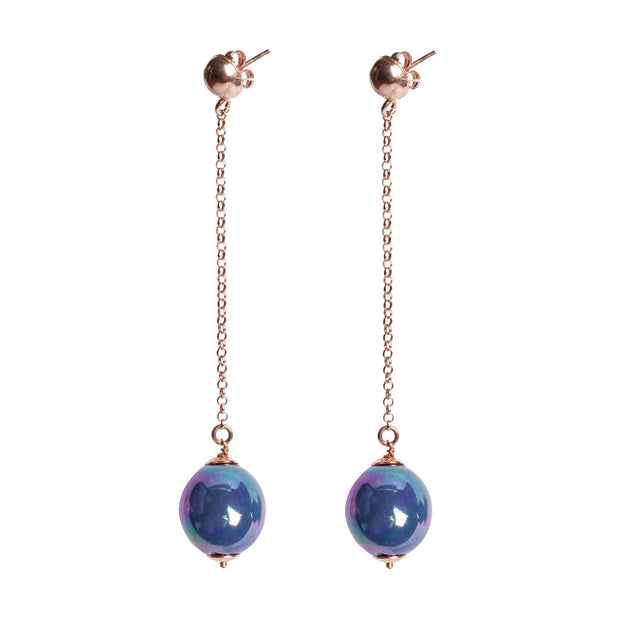 BALLS LONG PENDANT EARRINGS