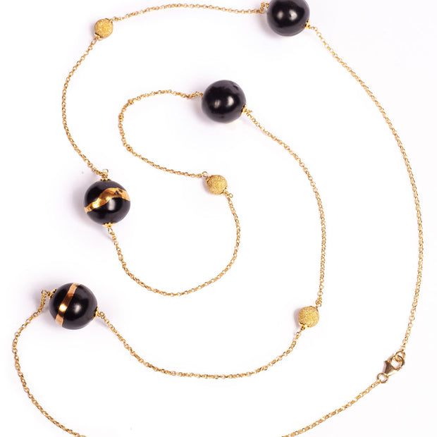 TERRA NERA MIGNON NECKLACE
