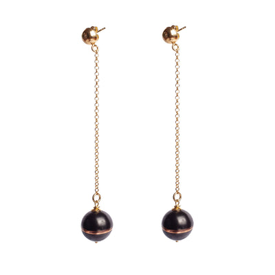 TERRA NERA PENDANT EARRINGS