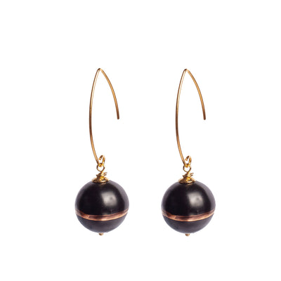 TERRA NERA ARCHED EARRINGS