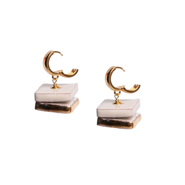 SCALA DEI TURCHI PETIT CIRCLE EARRINGS