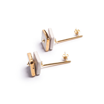 SCALA DEI TURCHI PETIT PENDANT EARRINGS