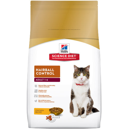 Science Diet  Adult Hairball Control 3.5lb