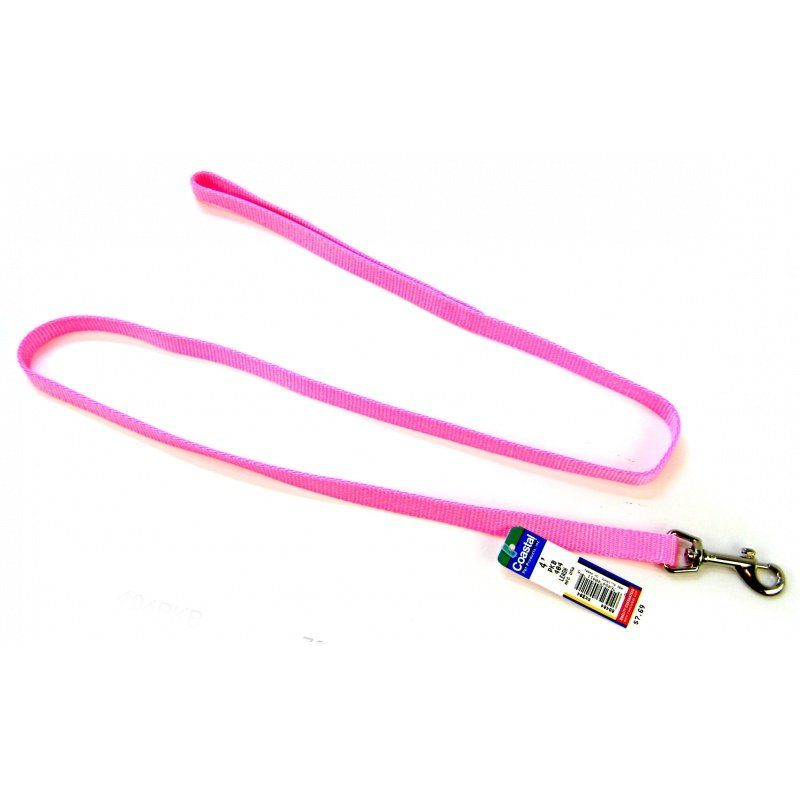 Coastal Pet Nylon Lead - Bright Pink