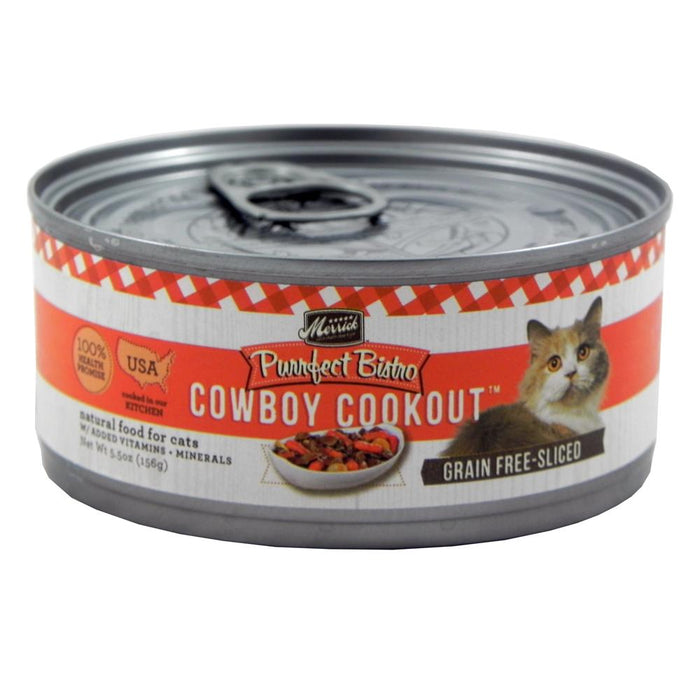 Merrick Cowboy Cookout Cat 5.5oz 24 Count Case