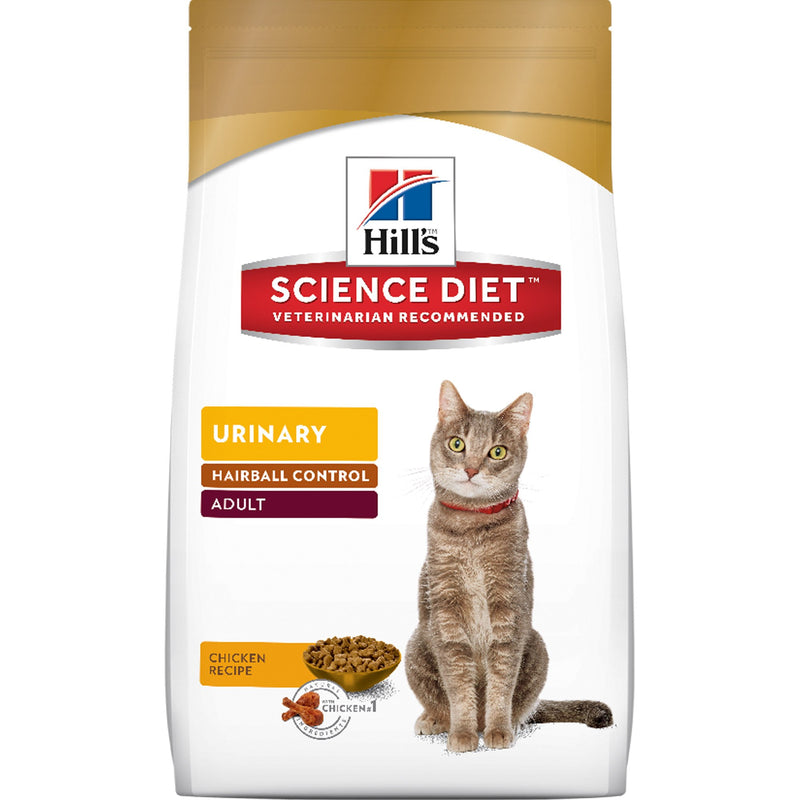 Science Diet Urinary Hairball Control Adult 3.5lb