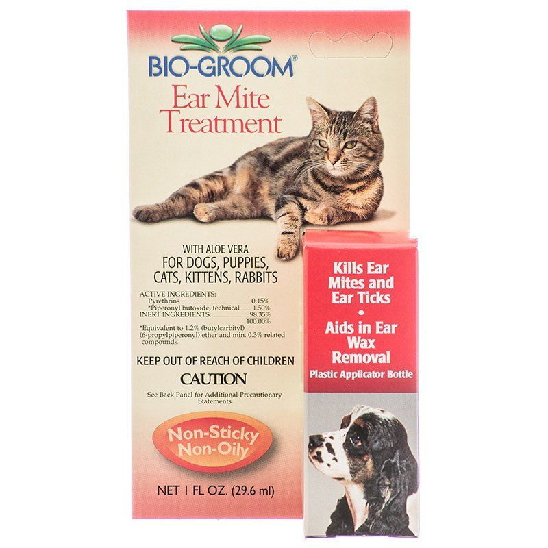 Bio Groom Ear Mite Treatment with Aloe Vera
