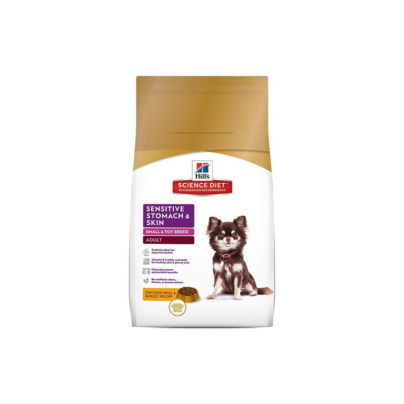 Science Diet Small & Toy Breed Sensitive Stomach & Skin 4lb
