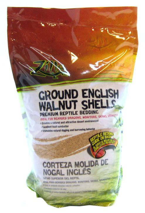 Zilla Desert Blend Ground English Walnut Shells Reptile Bedding