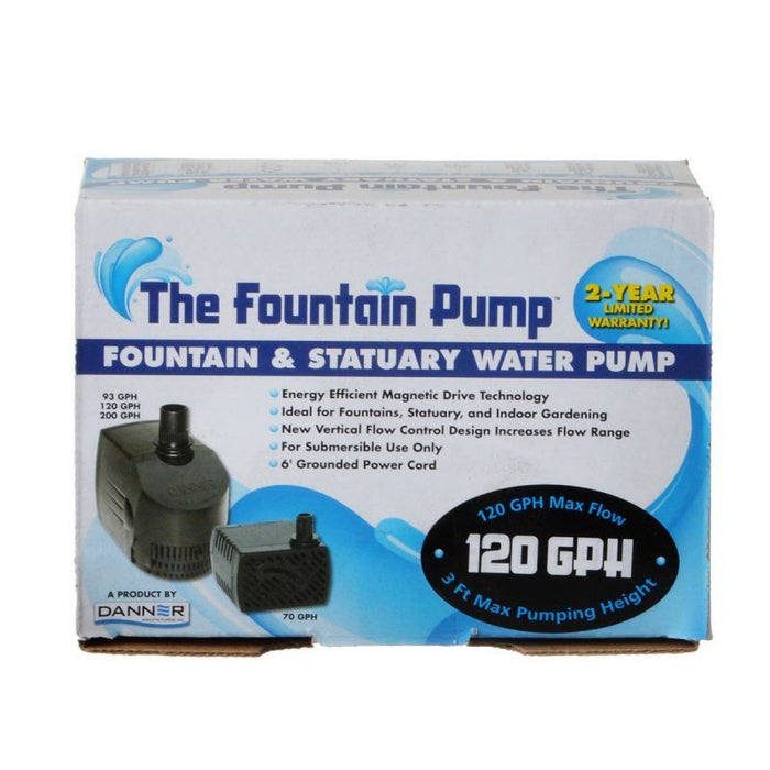 Danner Fountain Pump Magnetic Drive Submersible Pump