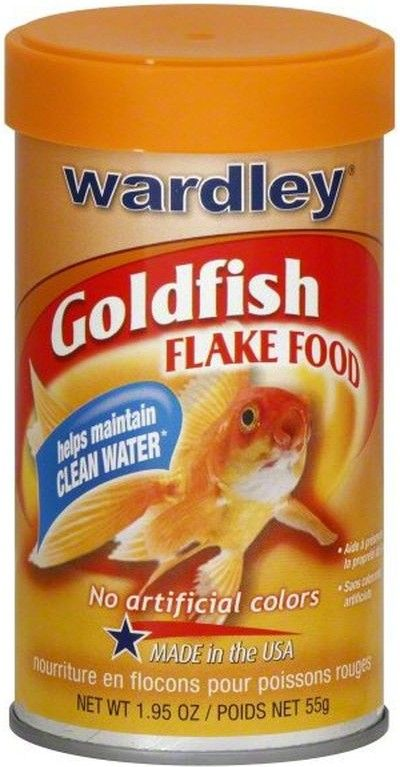 Wardley Premium Goldfish Flake Food