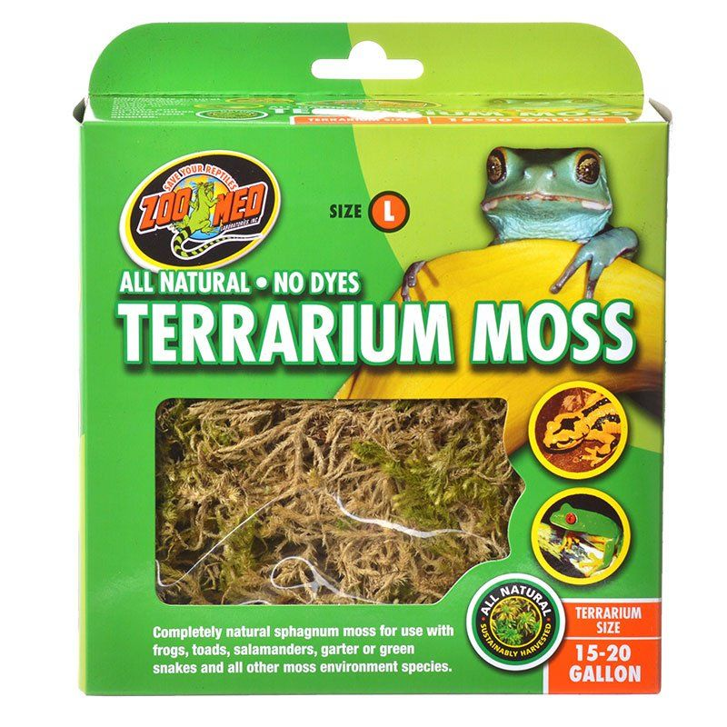 Zoo Med All Natural Terrarium Moss