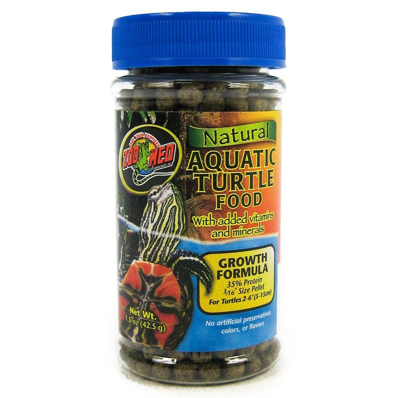 Zoo Med Natural Aquatic Turtle Food - Growth Formula Pellets