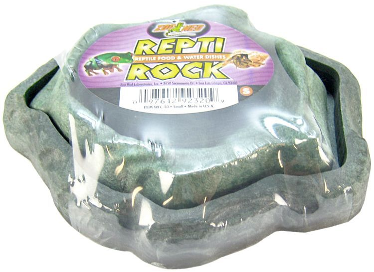 Zoo Med Repti Rock - Food & Water Dish Combo Pack