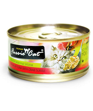 FUSSIE CAT TUNA CRAB SURIMI 2.8OZ 24 Count Case
