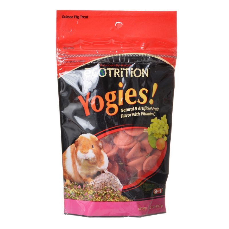 Ecotrition Yogies Guinea Pig Treats - Fruit Flavor with Vitamin C