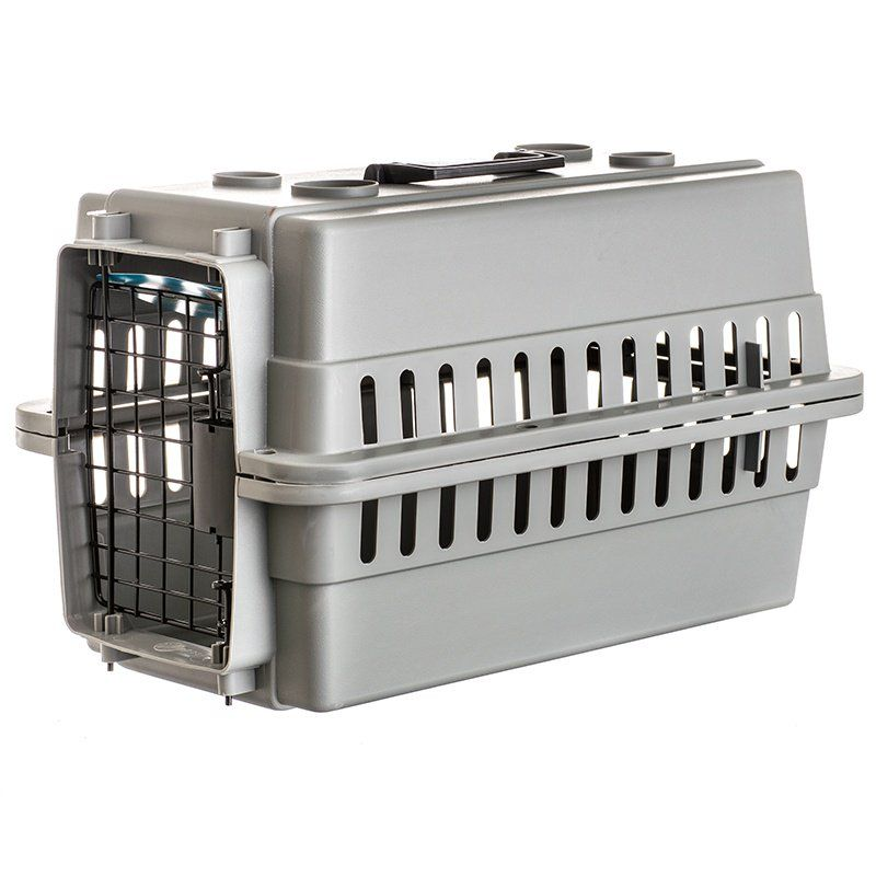 Aspen Pet Traditional Pet Kennel - Gray