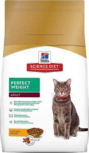Science Diet  Adult Perfect Weight 7lb