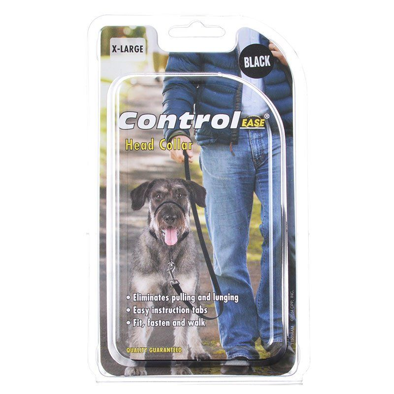 Control Ease Head Collar - Black