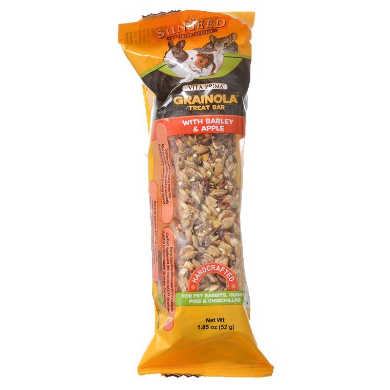 Sunseed Grainola Rabbit Treat Bar with Barley & Apple