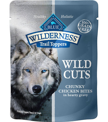 Blue Buffalo Wilderness Topper Chicken 3oz 12 Count Case