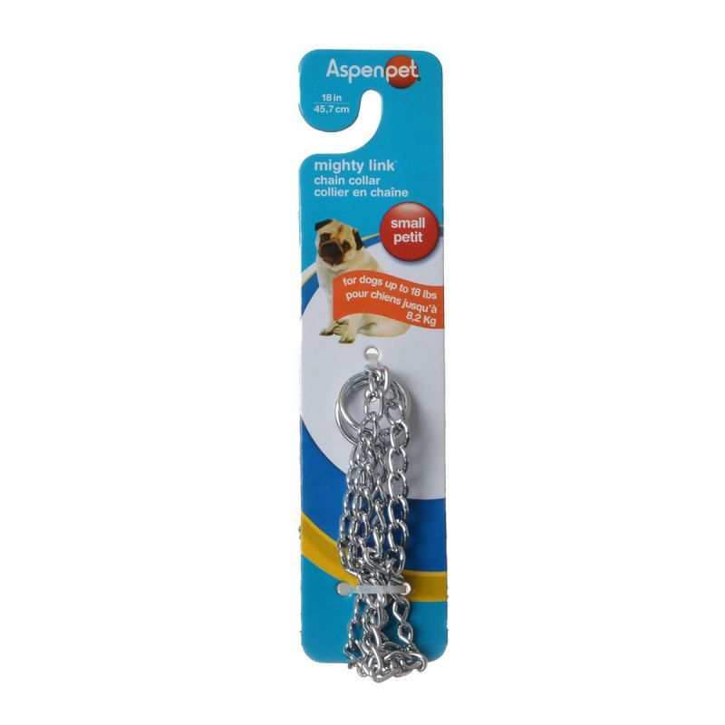 Aspen Pet Choke Chain - Light