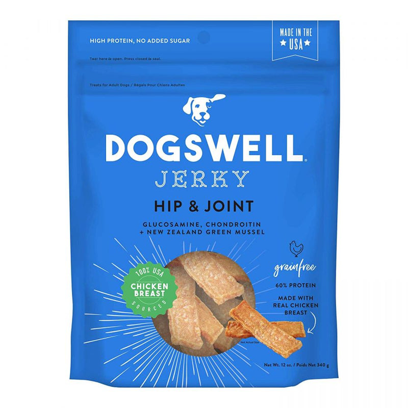 Dogswell Jerky Hip & Joint Dog Treats - Chicken