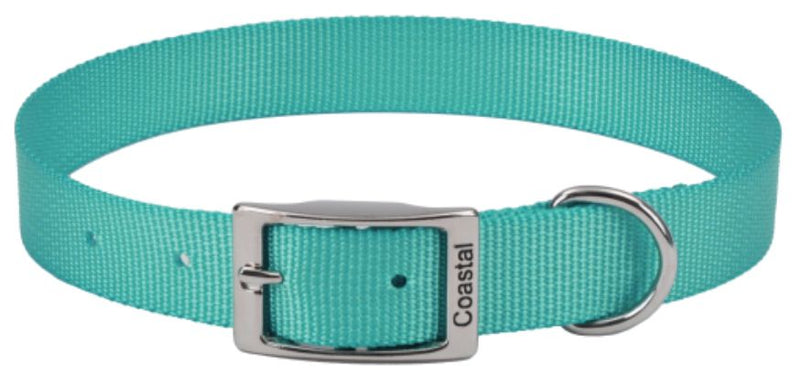 Coastal Pet Single-ply Dog Collar Teal