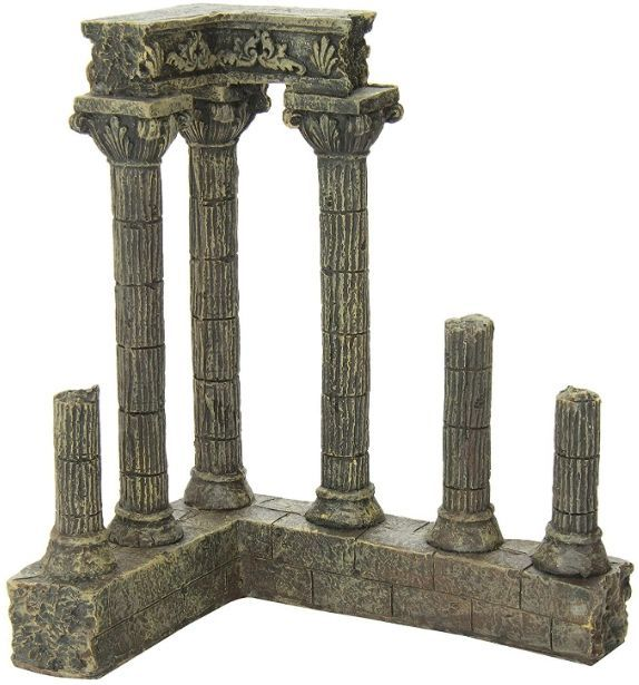 Aquatic Creations Corner Columns Aquarium Decor