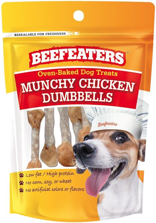 Beafeaters Oven Baked Munchy Chicken Dumbells Dog Treat