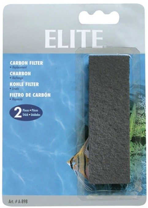 Elite Sponge Filter Replacement Carbon