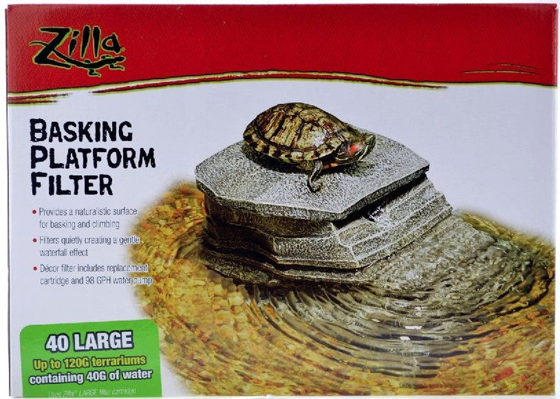 Zilla Decor Basking Platform with Filter
