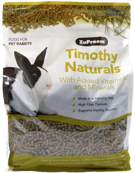 ZuPreem Natures Promise Timothy Naturals Rabbit Food